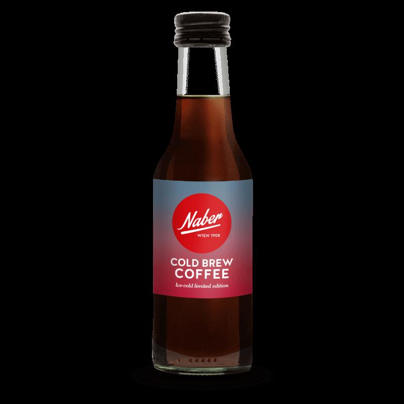 Naber Cold Brew Coffee Produkt Glasflasche